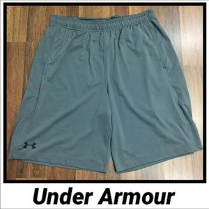 Under Armour Gray Athletic Shorts - L